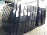 4mm 12mm 2140mmx3300mm Tinted Black Tempered Float Glass (C-B)