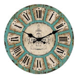 La qualité promotionnelle antique d'horloge de mur a promis