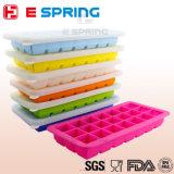 BPAは型のシリコーンDIYの氷メーカーOEMを作る角氷の皿を放す