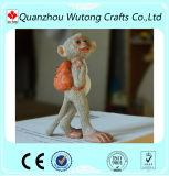 Statue animali belle della scimmia della resina della decorazione Handmade della Tabella