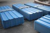 El cinc del material de material para techos cubrió el azulejo de la presión en frío