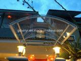 Riparo esterno Awing del baldacchino di alluminio delle componenti del policarbonato della tenda del Rainbow (YY-I1 900)