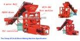 Preço de bloqueio da máquina de fatura de tijolo do cimento oco semiautomático do bloco