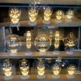 Bombilla decorativo pendiente incandescente de la bombilla del filamento del bulbo st64 220V de edison de la vendimia de la lámpara del bulbo e27 de la bombilla LED 40W de MTX