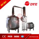 De stoom Verwarmde Apparatuur van de Eenheid van de Distillatie van de Pot nog voor Brandewijn