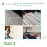 De bespoten Akoestische die Wol van de Glasvezel van de Isolatie in Isolatie voor Spouwmuur en Plafond wordt geblazen