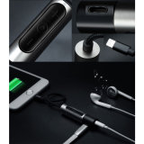 Relámpago hasta el adaptador audio del cargador del auricular del cable de Gato del auricular de 3.5m m para el iPhone 7