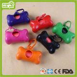 De kleurrijke Automaat van het Afval van de Vuilniszakken van de Hond (hn-PG346)