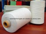 Alto filo di cotone del poliestere di tenacia, filato di torsione del poliestere del cotone Ne20/2 per tessere
