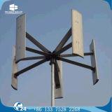 gerador de turbina pequeno trifásico vertical do vento da C.A. 100W para o barco