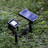 Colore di telecomando che cambia l'indicatore luminoso decorativo del giardino del prato inglese dell'iarda esterna chiara solare di paesaggio