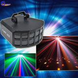 RGBW endlose Farbe, die doppeltes Effekt-Licht der Basisrecheneinheits-Disco-LED mischt