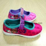 Zapatos encantadores de la danza de los zapatos de la inyección de la historieta de Minny del último diseño para los niños (FF921-1)
