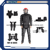 Swat Equipment / Riot Gear Equipment / Police Anti-Riot Suit com tecido resistente ao fogo