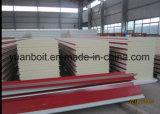 표준 강철 창고 건물 지붕 및 벽을%s PU 샌드위치 위원회