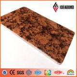 Поверхность Fr покрытия Stone-PE/PVDF (придайте огнестойкость ранга B1, A2) Acm