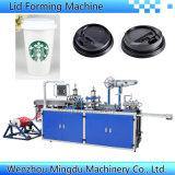 Café / Beber tapa de la taza de papel que forma la máquina