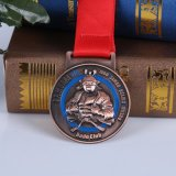 Médaillons en métal d'OEM avec la couleur et le logo personnalisés