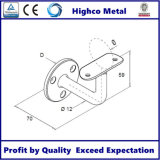 Corchete del montaje de la pared para la barandilla y la barandilla del acero inoxidable