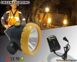 O farol sem corda portátil dos mineiros da segurança pode a iluminação contínua 18hours