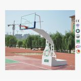 Напольная стойка целей баскетбола для деятельности при школы, оптовых целей баскетбола