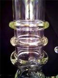 AA045 vendent la pipe de fumage en verre de recycleur