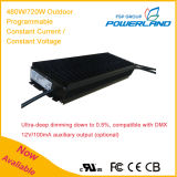 480With720W 24~58.8V Outdoor Programmable Constant Current/Constant Voltage LED Driver