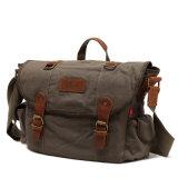 Usine lourde militaire d'ODM d'OEM de sac d'épaule de sac à main de messager de toile (RS-H7032-5)