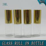 3ml MiniBroodje van het Glas van het Parfum van de cilinder het Lege op Fles