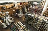 Практически стеллаж для выставки товаров бутылки шкафа вина пола 360 бутылок