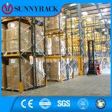 ISO9001 certificou o racking resistente seletivo personalizado do metal do armazém