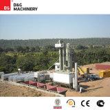 Planta estacionária do asfalto de 180 T/H para a construção de estradas