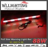 vermelho/branco da barra clara do diodo emissor de luz da polícia 88W