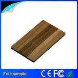 Mecanismo impulsor de madera de bambú 8GB del flash del USB de la tarjeta de visita de 2016 ventas al por mayor