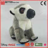Реалистическим игрушка плюша Lemur заполненного животного En71 замкнутая кольцом