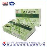 Caisse d'emballage de papier estampée par logo fait sur commande