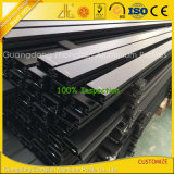 Anodisierte Aluminiumzwischenwand mit anodisiertem Balck Aluminiumstrangpresßling-Profil