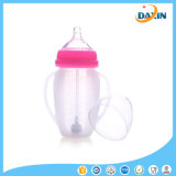 Frasco de alimentação largo do leite do bebê do calibre do silicone