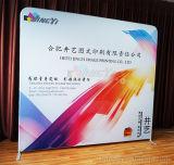 De aangepaste Goedkope Intrekbare Duurzame Banner van de Vertoning van de Achtergrond van het Ontwerp van het Embleem