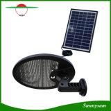 IP65 economizzatori d'energia impermeabilizzano la lampada esterna del percorso dell'indicatore luminoso di obbligazione del giardino dell'iarda del sensore di movimento di energia solare dei 56 LED (un comitato solare incorporato di 3 W + un comitato solare supplementare di 5 W)