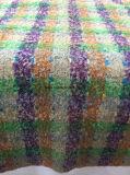 Stile variopinto dell'assegno del tessuto di riserva delle lane