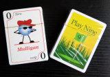 Juego de tarjetas que juegan de papel del póker del golf del juego nueve