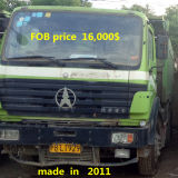 Beibenは大型トラックを使用した