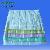 Filtro Pocket lavable del filtro de aire del bolsillo HEPA del marco de las aleaciones de aluminio F5, filtro de aire de la CA para el instrumento exacto