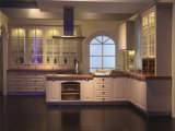 Kundenspezifische Farben-Küche-Spitzenschränke mit Partical Boad