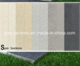 Azulejos llenos de cerámica de la porcelana del suelo de la carrocería en el color negro (G6607HTS)