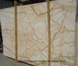 도와를 위한 황금 거미 대리석, 싱크대, 사치품 색깔, 크림 베이지색 Marbletile를 가진 벽