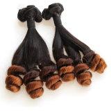 9A一等級の卸し売り人間の毛髪の拡張インドのバージンの毛