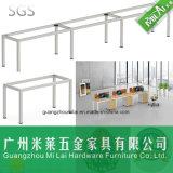 Mesa reta da mobília de escritório do projeto do preço do competidor com frame de aço