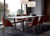 (SD1014)現代ホテルの家具椅子を食事する木製フレームの革家具製造販売業のレストラン